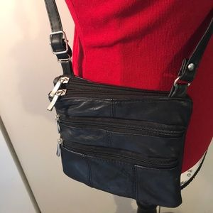 Leon Leather Crossbody Bag Vintage